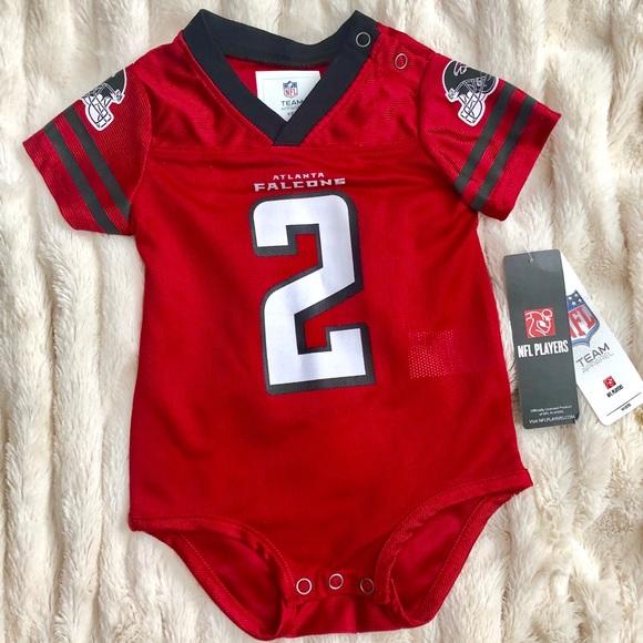 buy online 00a0b 7b519 NWT Official NFL 3/6mo Atlanta Falcons baby jersey NWT